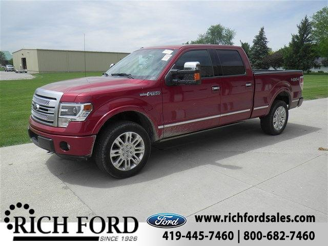 2013 ford f 150 lariat 4x4 lariat 4dr supercrew styleside 5 5 ft sb for sale in archbold ohio. Black Bedroom Furniture Sets. Home Design Ideas