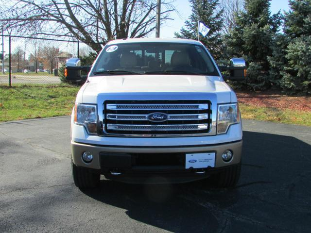 2013 Ford F-150 Lariat 4x4 Lariat 4dr SuperCrew