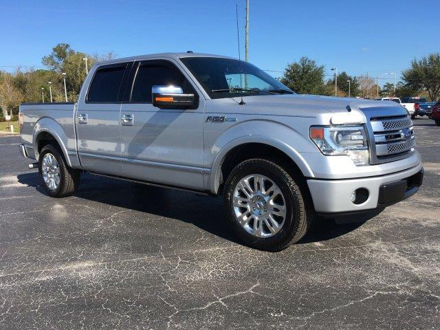 2013 Ford F-150 Platinum 4x2 Platinum 4dr SuperCrew
