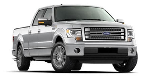 2013 Ford F-150 Platinum 4x4 Platinum 4dr SuperCrew