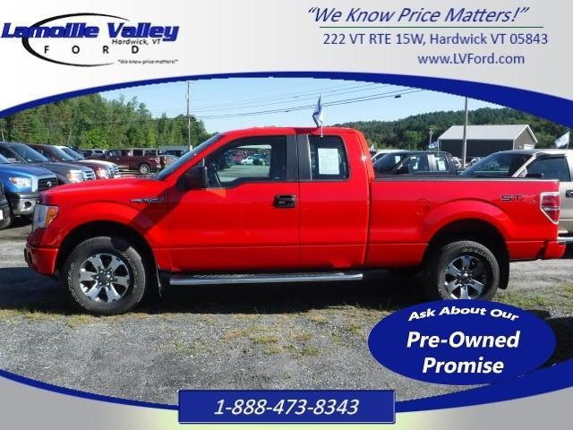 2013 ford f 150 stx 4x4 stx 4dr supercab styleside 6 5 ft sb for sale in hardwick vermont. Black Bedroom Furniture Sets. Home Design Ideas