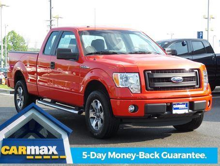 2013 ford f 150 stx 4x4 stx 4dr supercab styleside 6 5 ft sb for sale in knoxville tennessee. Black Bedroom Furniture Sets. Home Design Ideas