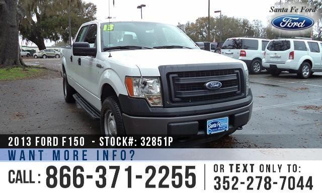2013 Ford F-150 XL - Leather Seats - Running Boards