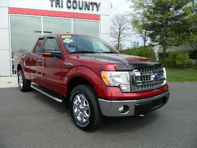 2013 Ford F 150 Xlt 4x4 Xlt 4dr Supercab Styleside 6 5 Ft