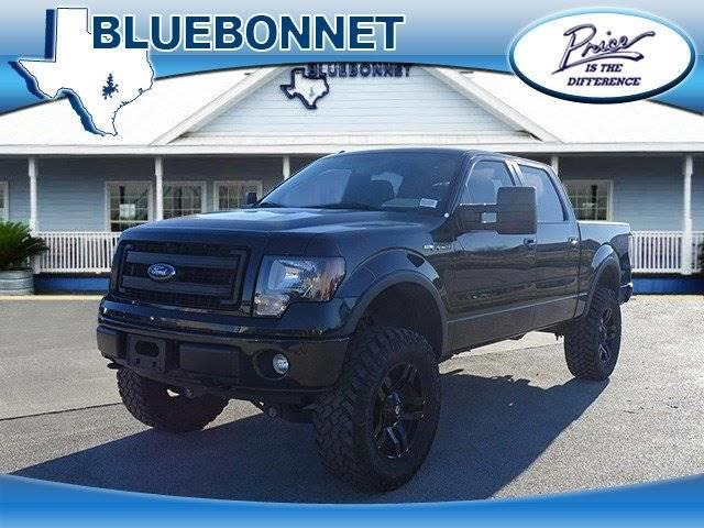 2013 Ford F-150 XLT 4x4 XLT 4dr SuperCrew Styleside 5.5