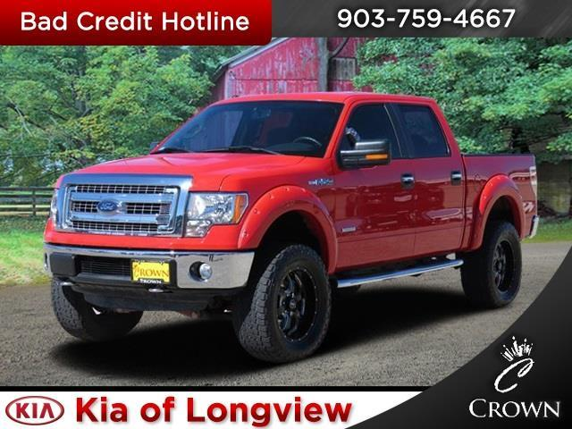 2013 ford f 150 xlt 4x4 xlt 4dr supercrew styleside 6 5 ft sb for sale in longview texas. Black Bedroom Furniture Sets. Home Design Ideas