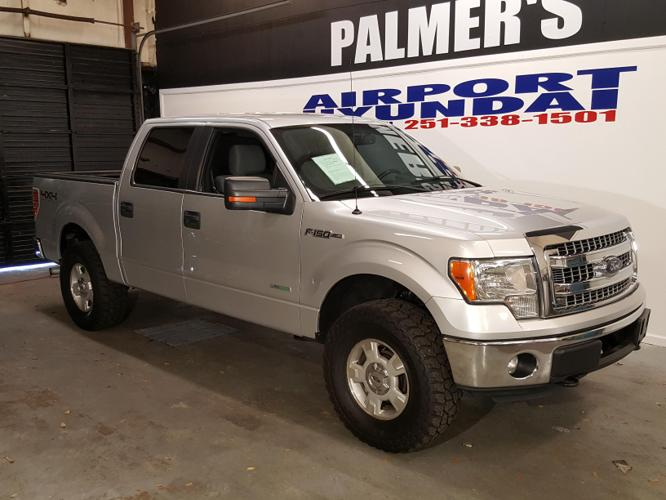 2013 Ford F-150 XLT 4x4 XLT 4dr SuperCrew Styleside 6.5