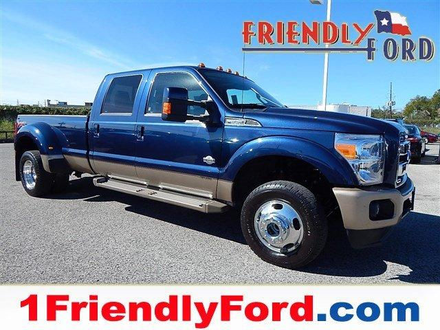 2013 Ford F 350 4x4 King Ranch 4dr Crew Cab 8 Ft Lb Drw Pickup For Sale In Barrett Texas