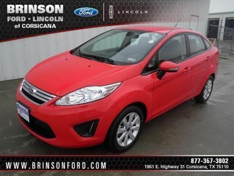 Brinson Ford Corsicana >> 2013 FORD FIESTA 4 DOOR SEDAN for Sale in Corsicana, Texas Classified | AmericanListed.com