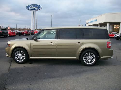 2013 Ford Flex Sel Gingerale Green Black 18k Miles For