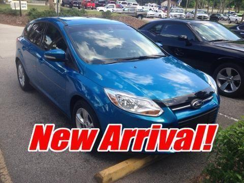 2013 FORD FOCUS 4 DOOR HATCHBACK