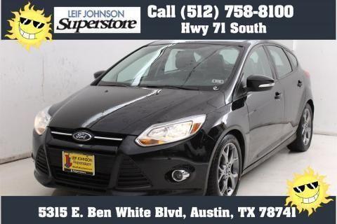 2013 Ford Focus 4 Door Hatchback For Sale In Buda Texas