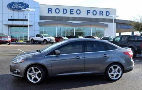 2013 ford focus 4 door sedan for sale in goodyear arizona. Black Bedroom Furniture Sets. Home Design Ideas