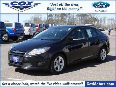 2013 ford focus 4 door sedan for sale in alden wisconsin for Cox motors new richmond wi