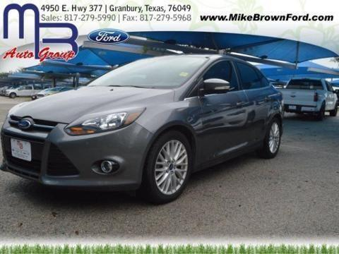 2013 ford focus 4 door sedan for sale in granbury texas classified. Black Bedroom Furniture Sets. Home Design Ideas
