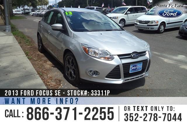 2013 Ford Focus SE - 25K Miles - Financing Available!