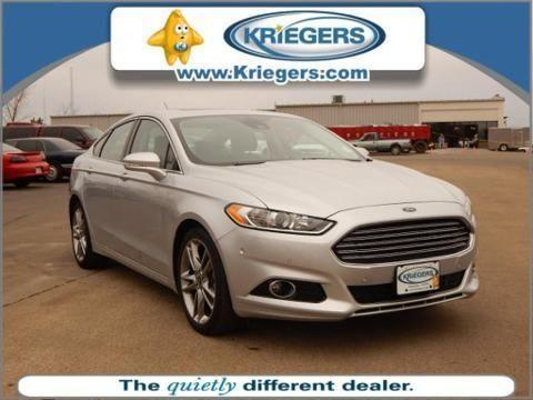 2013 ford fusion 4 door sedan for sale in muscatine iowa classified. Black Bedroom Furniture Sets. Home Design Ideas