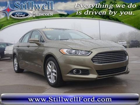 2013 ford fusion 4 door sedan for sale in hillsdale michigan classified. Black Bedroom Furniture Sets. Home Design Ideas