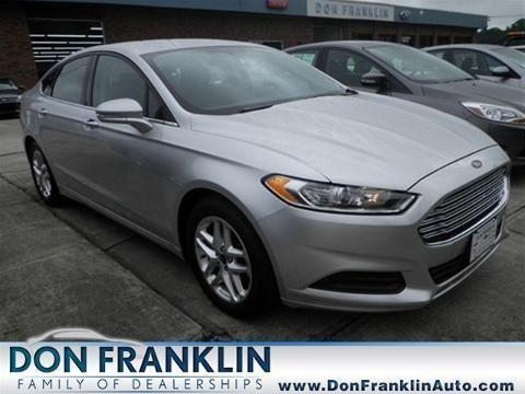 2013 ford fusion 4 door sedan for sale in columbia kentucky classified. Black Bedroom Furniture Sets. Home Design Ideas
