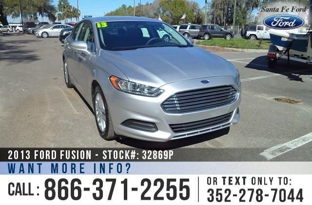 2013 Ford Fusion SE - 20K - Financing Available!