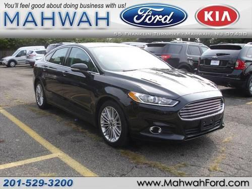 2013 ford fusion sedan se for sale in mahwah new jersey classified. Black Bedroom Furniture Sets. Home Design Ideas