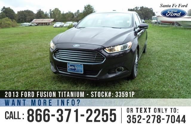 2013 Ford Fusion Titanium - 41K Miles - Financing