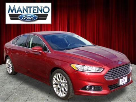 2013 ford fusion titanium manteno il for sale in manteno illinois classified. Black Bedroom Furniture Sets. Home Design Ideas