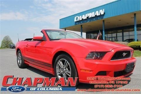 2013 ford mustang 2 door convertible for sale in columbia. Black Bedroom Furniture Sets. Home Design Ideas