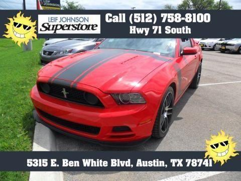 2013 ford mustang 2 door coupe for sale in buda texas classified. Black Bedroom Furniture Sets. Home Design Ideas