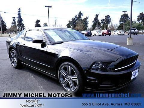 2013 ford mustang 2 door coupe for sale in aurora for Jimmy michel motors inc