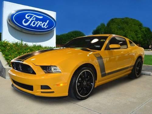 2013 Mustang Boss 302 White