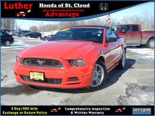 2013 ford mustang convertible for sale in saint cloud minnesota classified. Black Bedroom Furniture Sets. Home Design Ideas