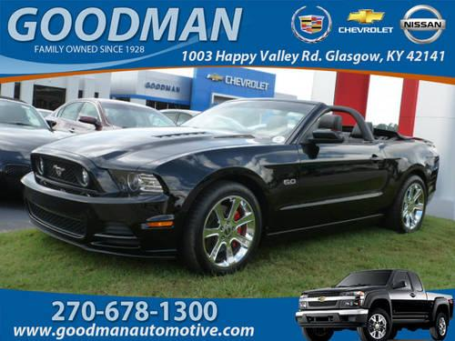 2013 ford mustang convertible gt premium for sale in dry fork kentucky classified. Black Bedroom Furniture Sets. Home Design Ideas