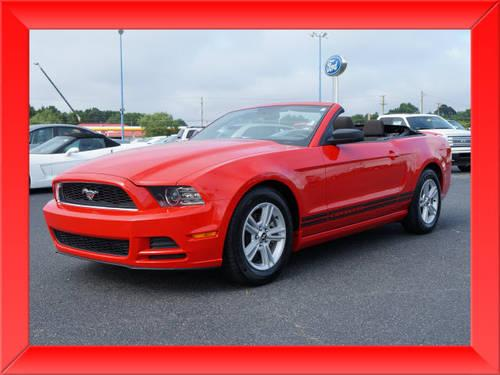 2013 ford mustang convertible v6 for sale in lexington north carolina classified. Black Bedroom Furniture Sets. Home Design Ideas