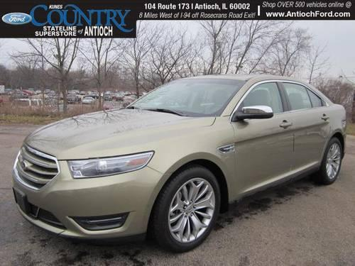 2013 ford taurus 4d sedan limited for sale in antioch illinois classified. Black Bedroom Furniture Sets. Home Design Ideas
