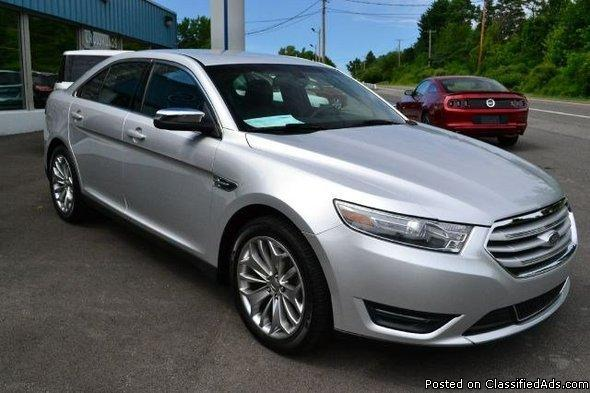 2013 ford taurus 39 limited 39 back up camera leather loaded ravena fo. Cars Review. Best American Auto & Cars Review