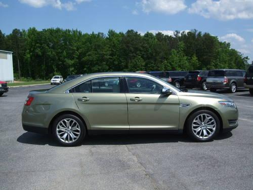 2013 ford taurus limited gingerale dune loaded for sale in alexander. Cars Review. Best American Auto & Cars Review