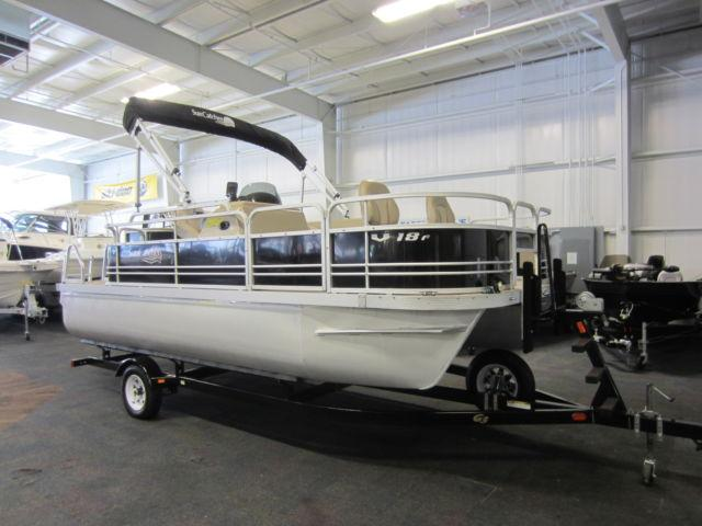 2013 G3 Suncatcher V18f Pontoon With Only 72 Engine Hours