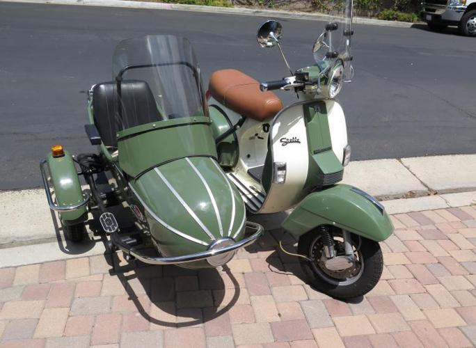 2013 genuine stella scooter with sidecar for sale in fullerton california classified. Black Bedroom Furniture Sets. Home Design Ideas