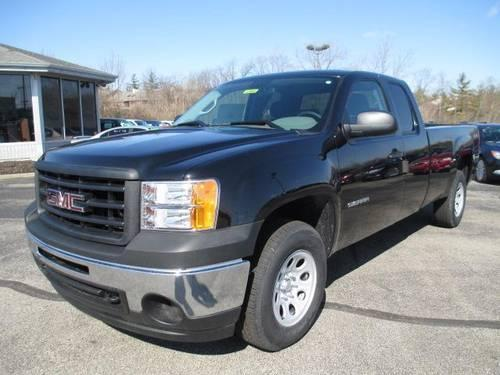 2013 gmc sierra 1500 extended cab long box 4 wheel drive work truck for sale in cincinnati ohio. Black Bedroom Furniture Sets. Home Design Ideas