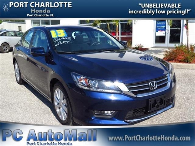 2013 honda accord ex 4dr sedan cvt for sale in port for Honda port charlotte fl