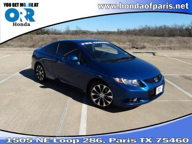2013 honda civic 2dr car 2dr man si for sale in paris texas classified. Black Bedroom Furniture Sets. Home Design Ideas