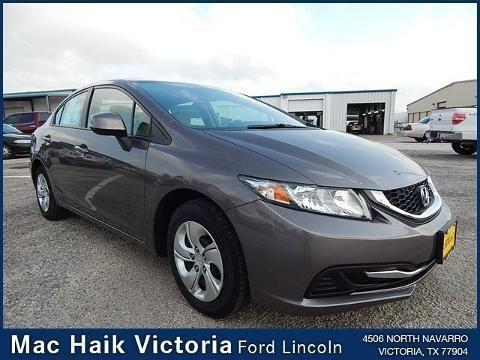 2013 honda civic 4 door sedan for sale in victoria texas classified. Black Bedroom Furniture Sets. Home Design Ideas