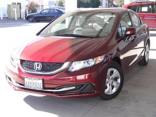 2013 honda civic 4d sedan lx for sale in chico california for Honda dealership chico ca