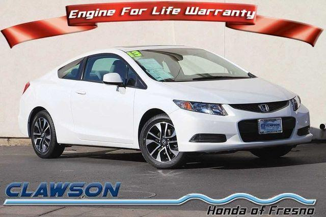 2013 honda civic ex ex 2dr coupe 5a for sale in fresno for Clawson honda service