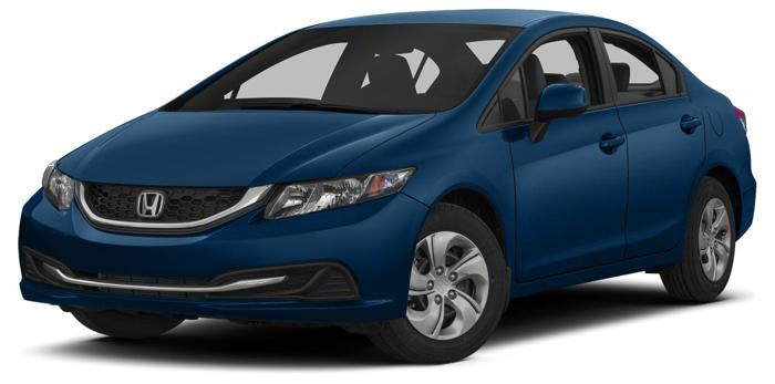 2013 Honda Civic EX EX 4dr Sedan
