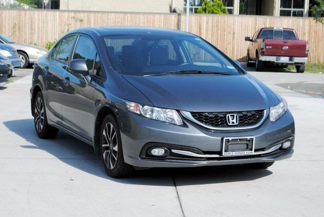 2013 honda civic ex l ex l 4dr sedan for sale in dallas. Black Bedroom Furniture Sets. Home Design Ideas