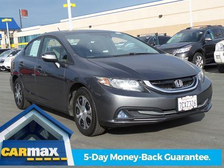 2013 Honda Civic Hybrid Hybrid 4dr Sedan