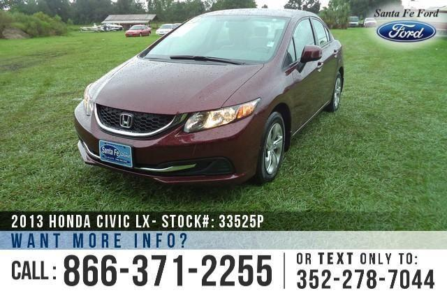 2013 Honda Civic LX - 15K Miles - Finance Here!