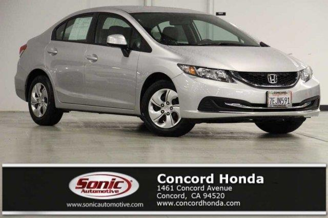 2013 Honda Civic LX LX 4dr Sedan 5A